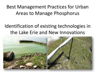 Lake Erie Phosphorus Trends