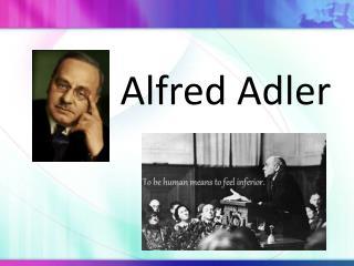 Alfred Adler