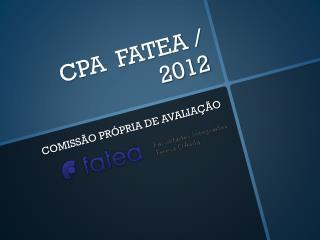 CPA  FATEA / 2012
