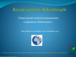 Associazione Adiconsum