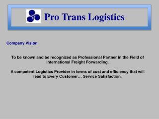 Pro Trans Logistics