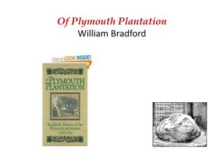 Of Plymouth Plantation William Bradford