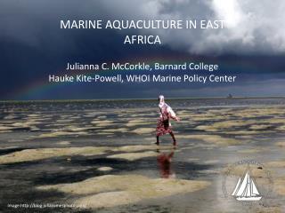 MARINE  AQUACULTURE  IN  EAST AFRICA