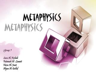 Metaphysics' Secrets