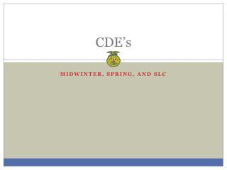 CDE's
