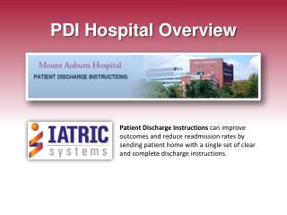 PDI Hospital Overview