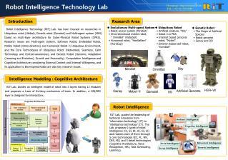 Robot Intelligence Technology Lab