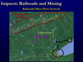 Impacts: Railroads and Mining