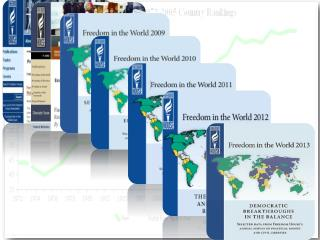 Freedom in the World: Ongoing Decline