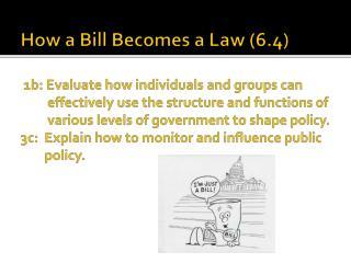 2 Categories of Bills