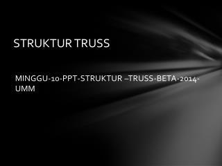 STRUKTUR TRUSS