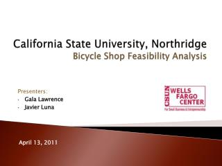 California State University, Northridge Bicycle  Shop Feasibility Analysis
