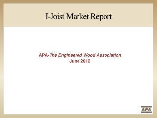 I-Joist Market Report