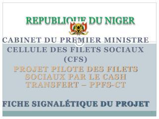 REPUBLIQUE DU NIGER