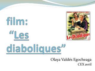 """film:  """" Les  diaboliques """""""