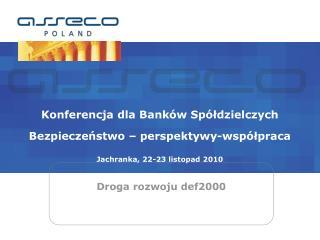 Droga rozwoju def2000