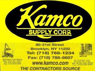 Kamco Supply Corp established 1939. Daily Service To Staten Island
