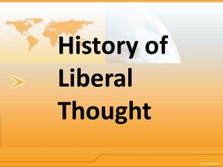History of Liberal Thought