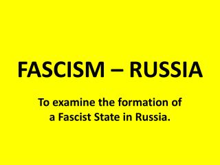 the rise and development of communism in russia The rise and fall of communism in russia available in  marx's thought had its own historical development, with changing directions of emphasis and .