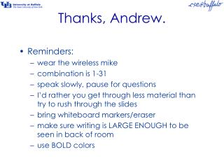 Thanks, Andrew.