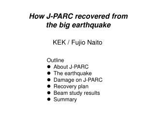 KEK /  Fujio  Naito
