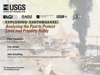 Talk by: Peter J. Haeussler pheuslr@usgs.gov  907-786-7447
