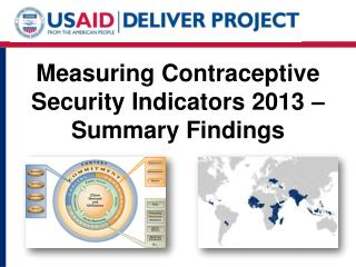 Measuring Contraceptive Security Indicators 2013 – Summary Findings