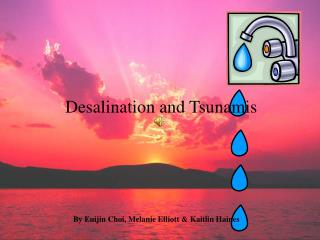Desalination and Tsunamis