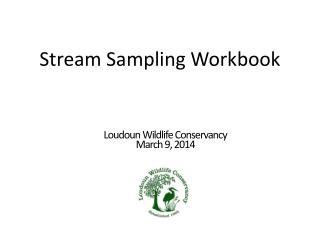 Stream Sampling Workbook