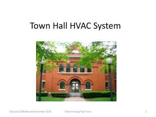 Town Hall HVAC System