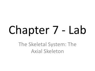 Chapter 7 - Lab