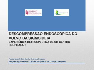 Pedro Magalhães-Costa, Cristina Chagas Hospital Egas Moniz – Centro Hospitalar de Lisboa Ocidental