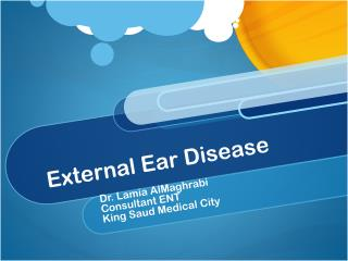 External Ear Disease