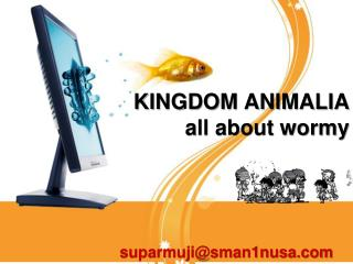 KINGDOM ANIMALIA  all about wormy