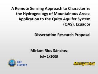 Miriam Rios  Sánchez July 1/2009
