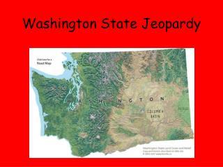 Washington State Jeopardy