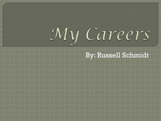 My Careers