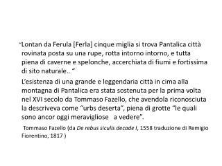 Il sito di  Pantalica  nella valle dell' Anapo