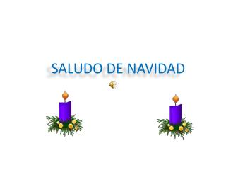 Saludo de Navidad 2011