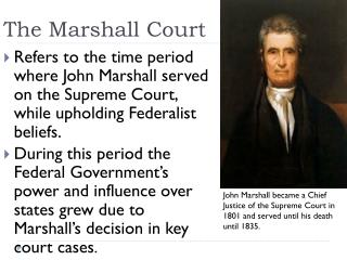 The Marshall Court