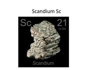 Scandium Sc