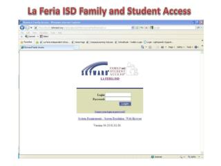 La Feria ISD Family and Student Access