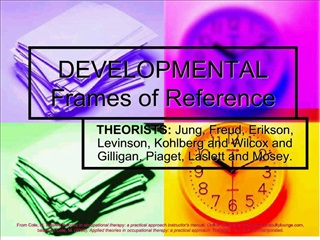 DEVELOPMENTAL Frames of Reference