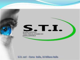 S.T.I.  scrl   - Corso  Italia, 16 Milano Italia