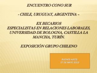 BUENOS AIRES. 17 DE MAYO 2013