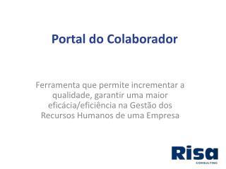 Portal do Colaborador