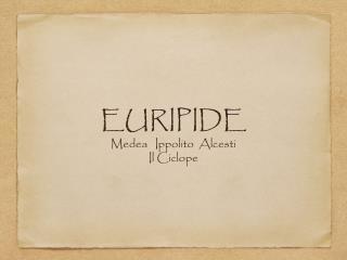 EURIPIDE