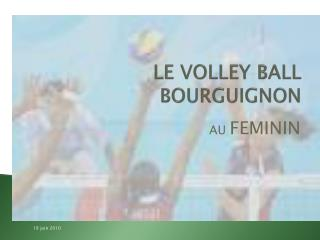 LE VOLLEY BALL  BOURGUIGNON