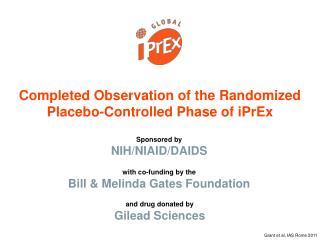 Sponsored by NIH/NIAID/DAIDS