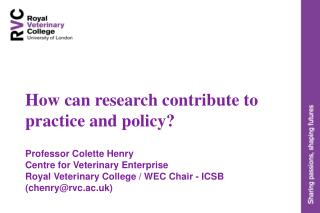 How can research contribute to practice and policy? Professor Colette Henry